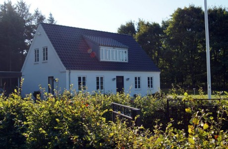 Enfamiliehus på Grønheden